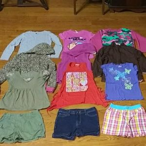 Huge Girls Youth bundle size 8-12